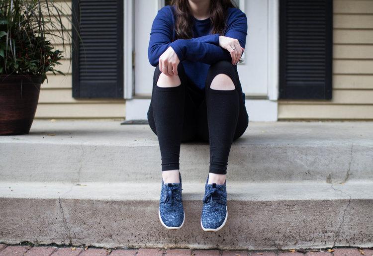How to Wear Navy Athleisure | Ahimsa Collaboration