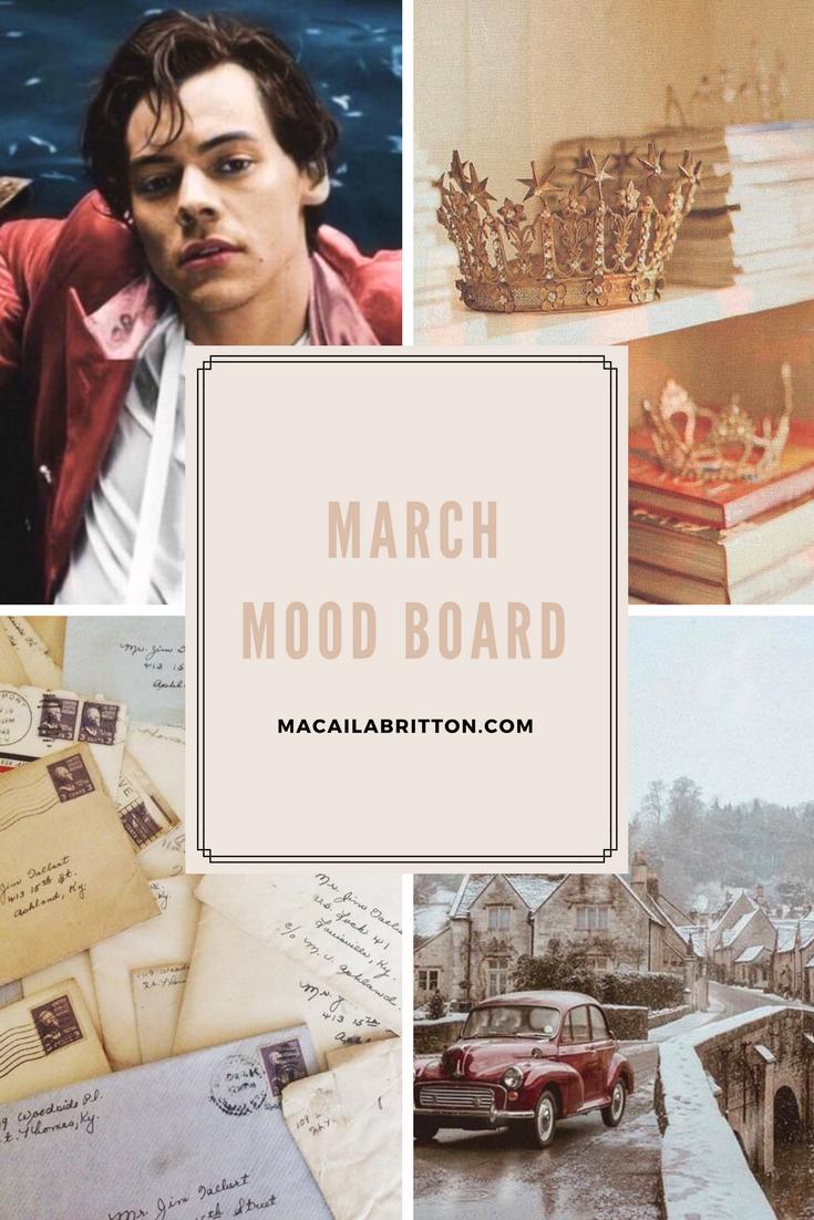March Mood Board