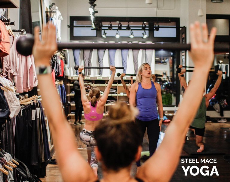 Steel Mace Yoga | Revolutionize How You Practice Yoga