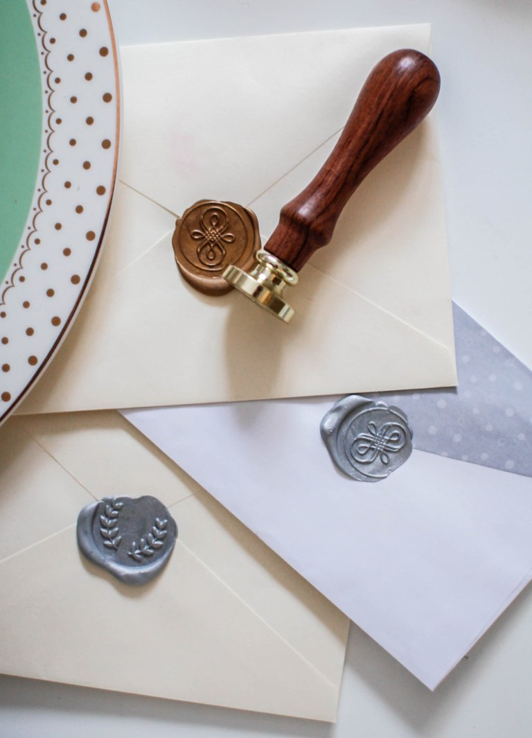 The Art Of Letter Writing | How To Use A Wax Seal